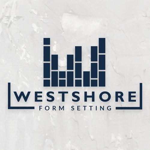 Concrete logo with the title 'WESTSHORE'