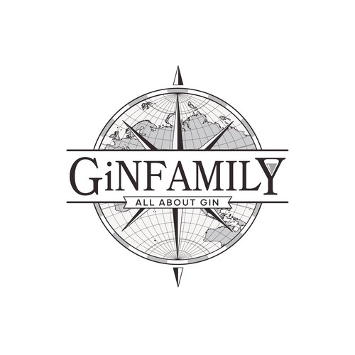 Gin logo with the title 'GiNFAMILY'