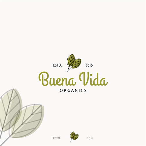 Earthy design with the title ' Fun and earthy Brand Identity Pack'