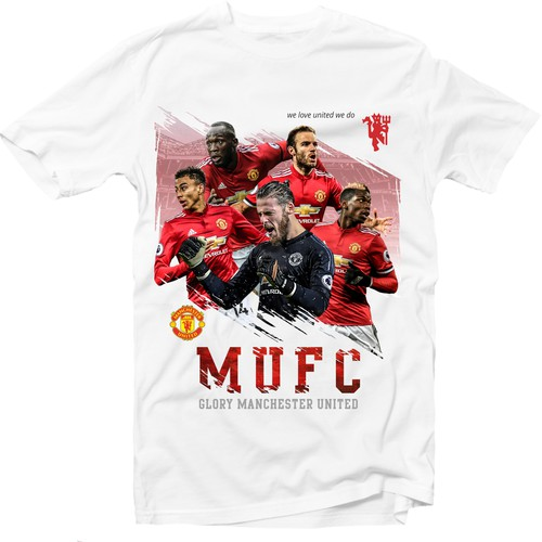 Football design with the title 'Eye-catching exclusive abstract football (soccer) t-shirt designs'