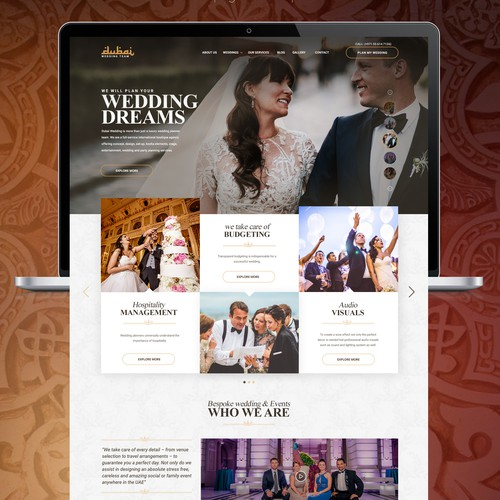 Planner design with the title 'Wedding Planners'