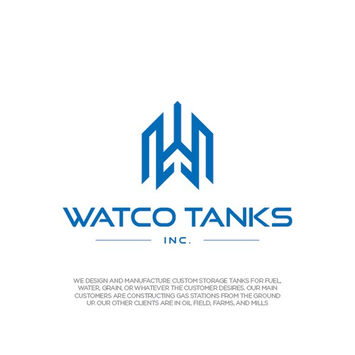 Oil logo with the title 'Watco Tanks, Inc.'