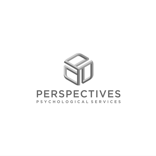 Perspective logo with the title 'Psychological Perspective Logo'