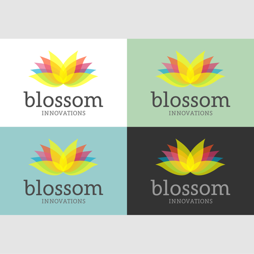 Blossom design with the title 'blossom'