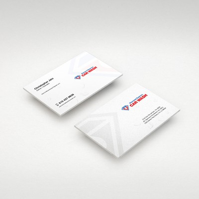 Business Cards for Car Wash Service
