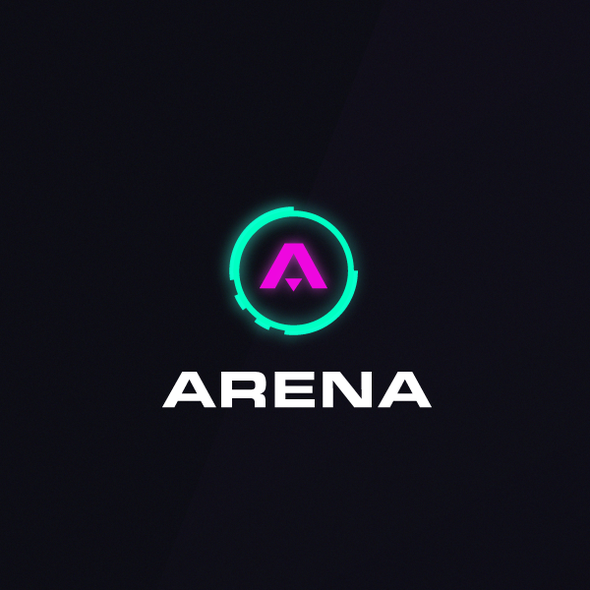 Arena logo with the title 'Arena '