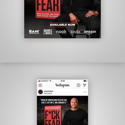 F*CK FEAR E-Book - Instagram Ad