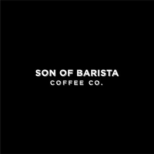 Barista logo with the title 'The Logotype for Son of Barista'