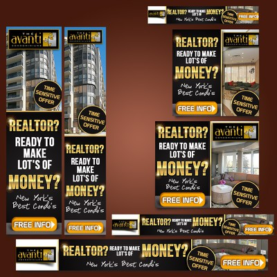 Create the next banner ad for Torbel Luxury Condo's - The Avanti
