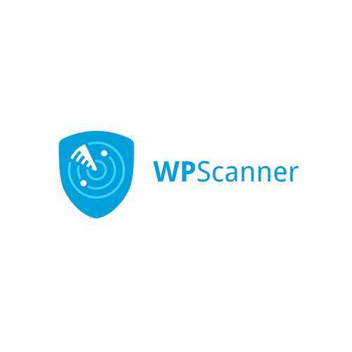 Web design logo with the title 'WP Scanner'
