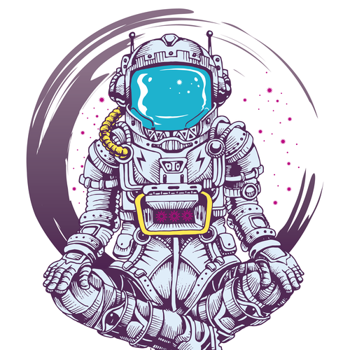 Vector illustration with the title 'character design packaging'