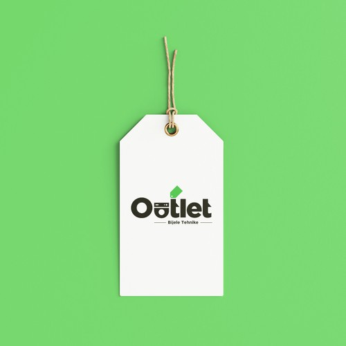 Outlet design with the title 'OUTLET'