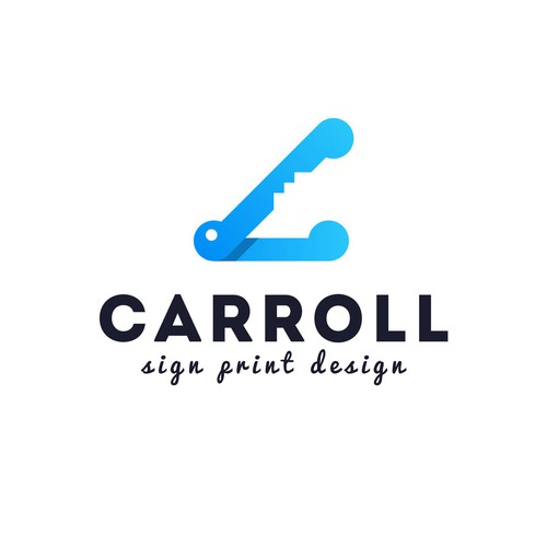 Crocodile logo with the title 'CARROLL'