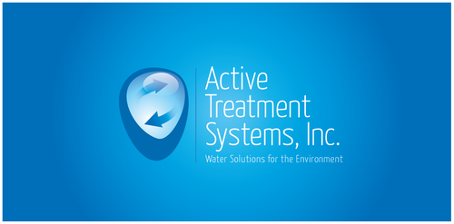 Treatment logo with the title 'Logo Design for Active Treatment Systems, Inc.'
