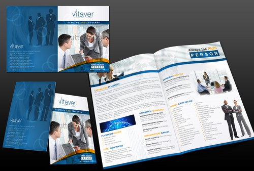 Success design with the title 'Vitaver needs a new brochure design'