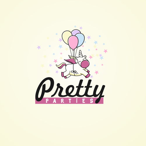 Party brand with the title 'Pretty Parties'