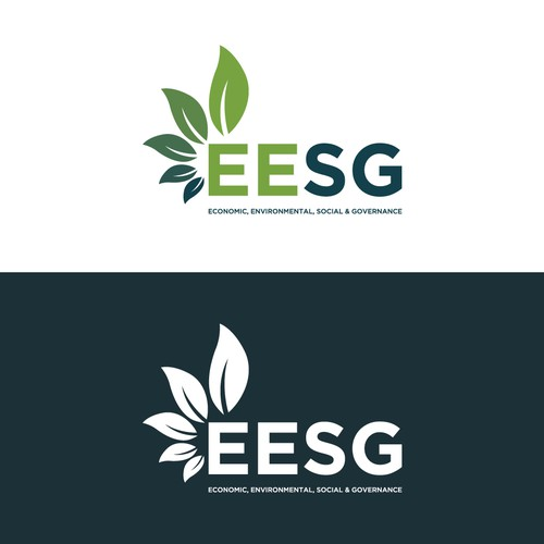 Economic logo with the title 'EESG Logo'