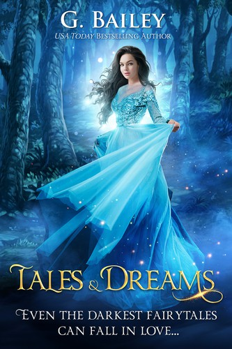 Fairy tale book cover with the title 'Tales Series Book 2'