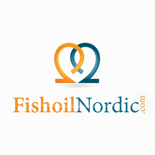 Fish restaurant logo with the title 'Help FishoilNordic.com with a new logo'