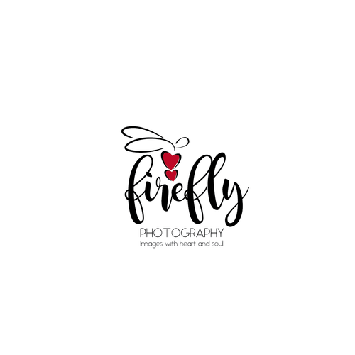 Firefly design with the title 'Logo for Firefly Photography'