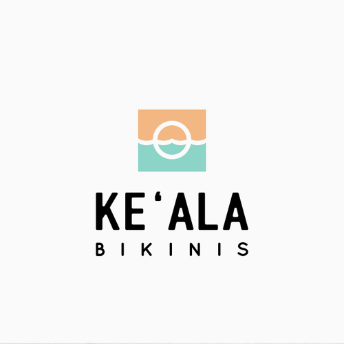 Swimsuit design with the title 'Logo for Ke'Ala bikinis'