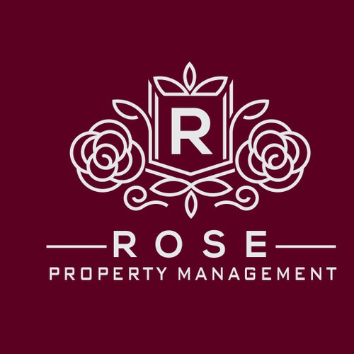 Black rose logo with the title 'Rose Property Management'