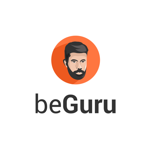 Guru design with the title 'beGuru'