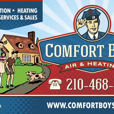 billboard design for air condition service