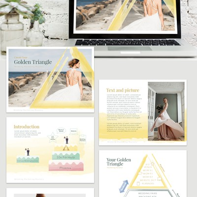 Elegant Presentation for a Wedding Marketing Mastery