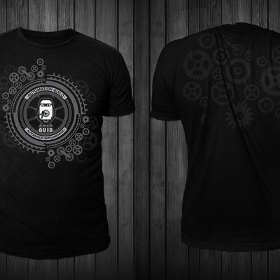 T-shirt design for Automation Guild 2018