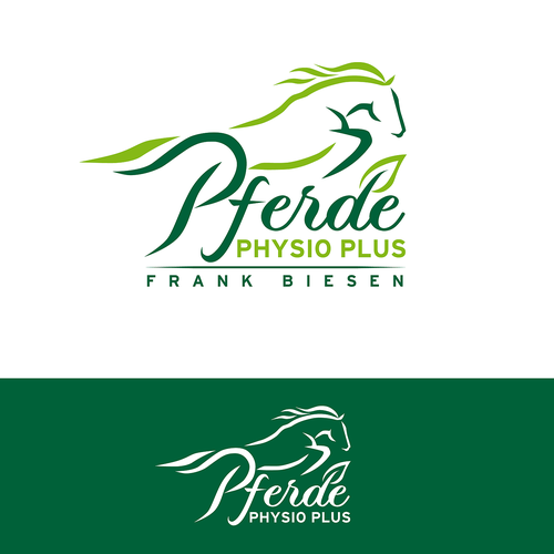 Horse stable logo with the title 'Logo for Equine Physical Therapist'