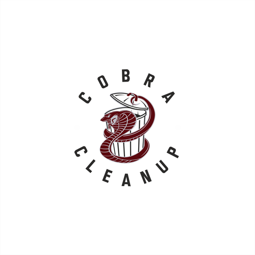 Waste logo with the title 'Cobra Cleanup'