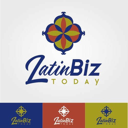 Latino logo with the title 'Latin Corporate Logo Style 2'