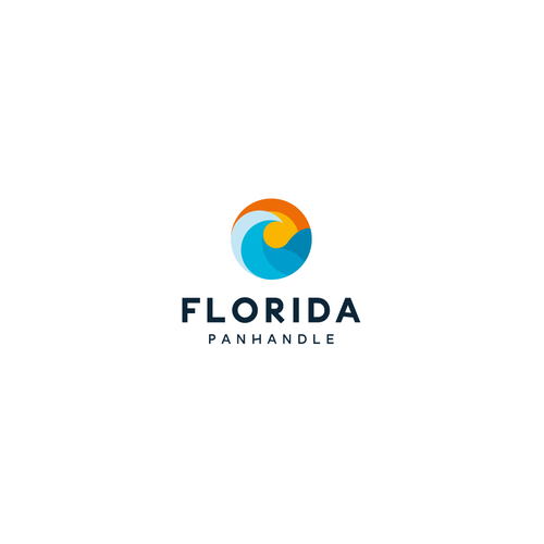 Winner logo with the title 'Bold logo concept for Florida Panhandle'