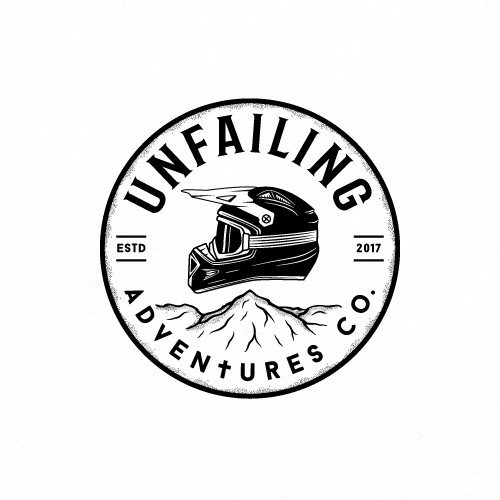 4x4 logo with the title 'Logo for Off road motorcycle company.'