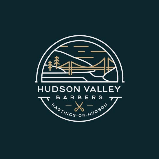 Barber brand with the title 'Barber Logo Design'