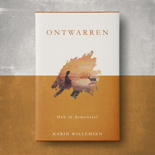 Minimal book cover with the title 'Ontwarren '
