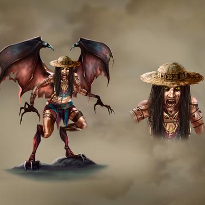 Design character TULIVIEJA