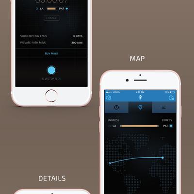 James Bond Themed VPN App