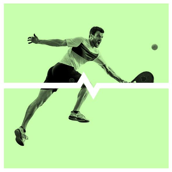 Sportswear logo with the title 'A sleek logo for a sportswear brand'