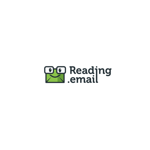 Email logo with the title 'Logo for Reading Mail'