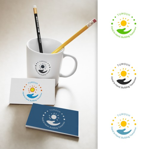 Scholarship design with the title 'Logo Design for Tumouh Company'