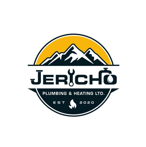 Plumbing brand with the title 'Jericho Plumbing & Heating'