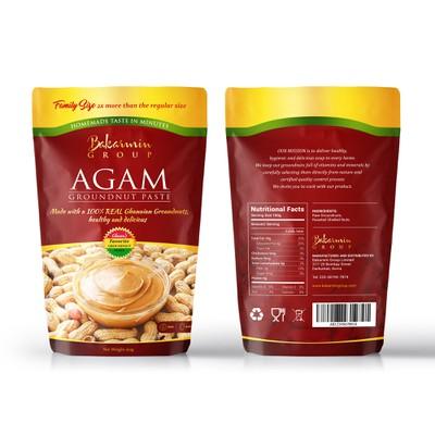 Service - Packaging for groundnut paste sachet
