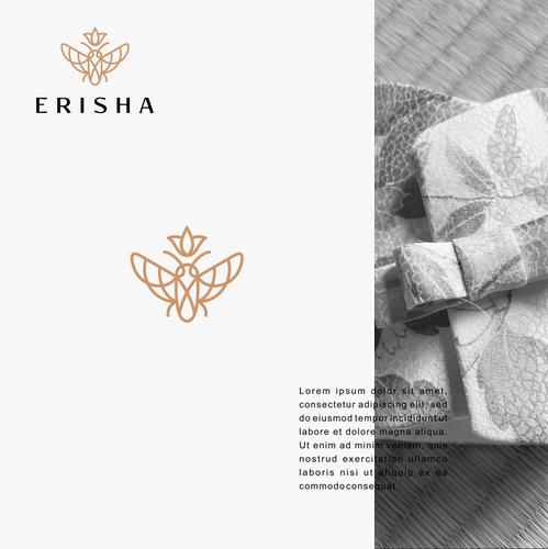 Logo with the title 'Erisha'
