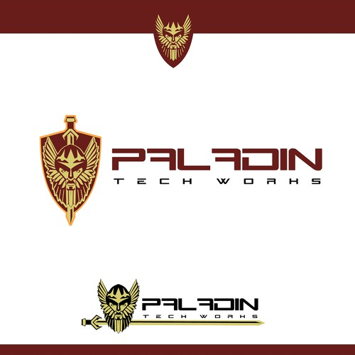 Worker logo with the title 'paladin'