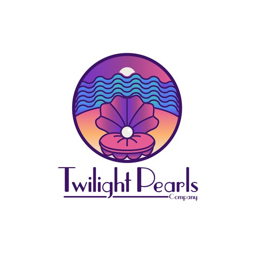 Pearl design with the title 'Logo for Women Pearl company.'