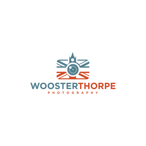 British design with the title 'Clever photography concept for Woosterthorpe'
