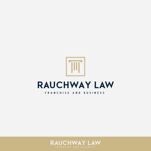 Franchise logo with the title 'Submission for Raunchway Law'