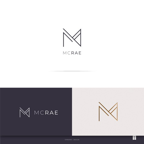 Amazing logo with the title 'MC RAE'